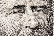 Free Ulysses S. Grant Close Up Stock Image - 2544611