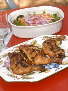 Free Chicken Lunch Royalty Free Stock Photography - 2544827