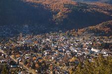 Free View On Mountainous Settlement Royalty Free Stock Image - 2544926