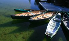 Free Canoe S For Rent Stock Image - 2544951