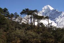 Free Himalaya Mountain Peak Royalty Free Stock Photo - 2545395