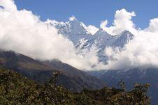 Himalaya Summit - Nepal Stock Images