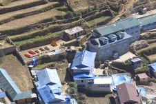 Free Namche Bazar - Nepal Himalaya Stock Photography - 2545412
