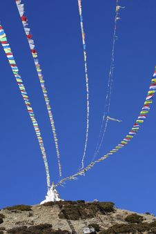 Free Stupa - Khumbu , Nepal Royalty Free Stock Images - 2545429