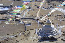 Free Stupa - Khumbu , Nepal Stock Photo - 2545430