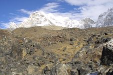 Free Himalaya Summits - Nepal Stock Photo - 2545460