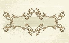Free Vintage Flowers Frame Royalty Free Stock Images - 2545999