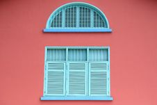 Free Colorful Old Window Royalty Free Stock Image - 2546116