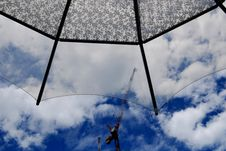 Free Glass Tent And Blue Skies Stock Images - 2546134