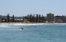 Free Australian Manly Beach Stock Photography - 2546602