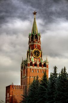 Free Spasskaya Tower Royalty Free Stock Photos - 2547768