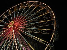 Free Big Wheel At Night Stock Photography - 2547922