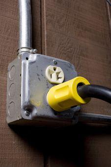 Free Electrical Plug Royalty Free Stock Image - 2547956