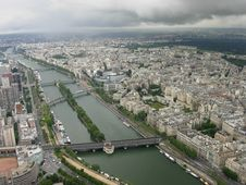 Free Paris And Seine Stock Photo - 2548860