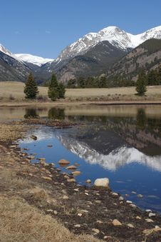 Free Rocky Mountain National Park Royalty Free Stock Photography - 2549187