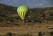 Free Balloon Landing Stock Image - 2549241