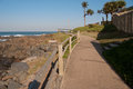 Free Sea Side Path. Royalty Free Stock Photography - 25404397