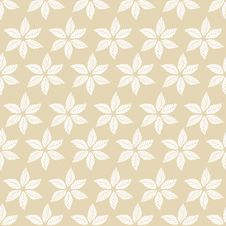 Pattern Leaves Stock Image