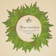Free Autumn Leaves Banner Stock Photo - 25403850