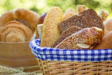 Free Bread And Various Pastry Royalty Free Stock Photos - 25406068