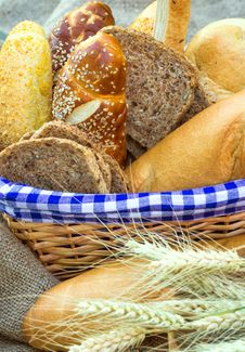 Free Various Pastry And Bread Royalty Free Stock Photography - 25406107