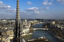 Free Aerial View Of Paris Stock Photography - 25406642