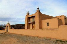 Free Church At Trampas NM Stock Photo - 25409150