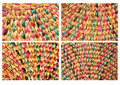 Free Closeup Of A Wicker Texture Royalty Free Stock Photos - 25418188