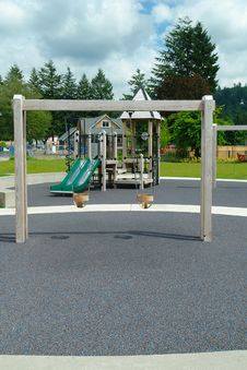 Free Outdoor Playground Royalty Free Stock Images - 25410099