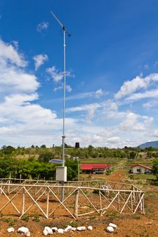 Weather Stations. Royalty Free Stock Photography