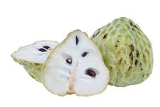 Free Fresh Custard Apple Royalty Free Stock Photography - 25414027