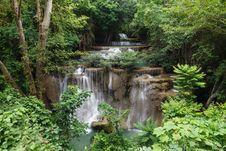 Free Beautiful Waterfall Royalty Free Stock Photo - 25417185