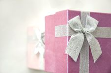 Free Top Of Gift Boxes Royalty Free Stock Image - 25417996