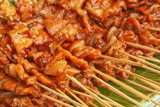 Free Grilled Pork Stock Photo - 25418040