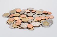 Thai Coins Stock Photography