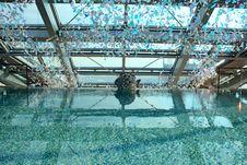 Free Swimming Pool In Modern Hotel Stock Photos - 25421883