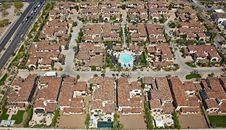 Red Tile Rooftops Stock Photos