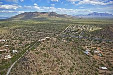 Free Scenic Vista Of East Mesa And Apache Junction Stock Image - 25427751