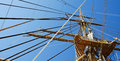 Free Ship Mast And Ropes Stock Image - 25430431