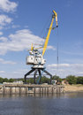 Free The Old Port Crane. Royalty Free Stock Photo - 25437905
