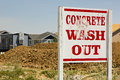 Free Concrete Wash Out Royalty Free Stock Photo - 25438325