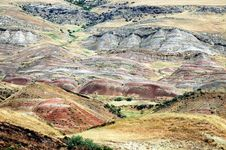 Free Red Arid Hills Royalty Free Stock Photo - 25431215