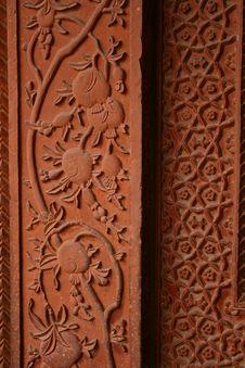 Free Stone Carving Pattern At Fathepur Sikri, India Stock Photos - 25431573