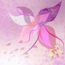 Free Abstract Bright Illustration Flower Royalty Free Stock Images - 25432039