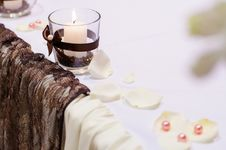 Free Table Setting For Wedding Dinner Stock Images - 25432114