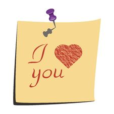 Free I Love You Royalty Free Stock Images - 25433399