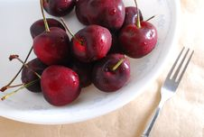 Free Red Cherry Stock Image - 25434271