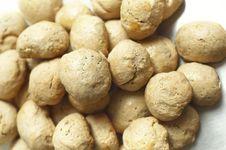 Pile Of Homemade Bread Balls &x28; Buns &x29; Stock Photo