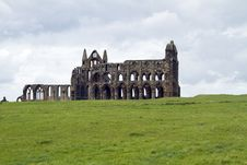 Free Whitby Abbey Royalty Free Stock Image - 25439276