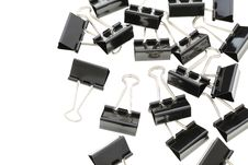 Free Binder Clips Royalty Free Stock Photography - 25441887